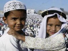 Ramadan in Pictures: Muslim Children Around the World (ok not a recipe but cute kids!)