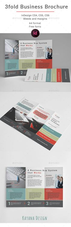 Business Trifold Brochure - Brochures Print Templates Download here : https://graphicriver.net/item/business-trifold-brochure/19660430?s_rank=83&ref=Al-fatih