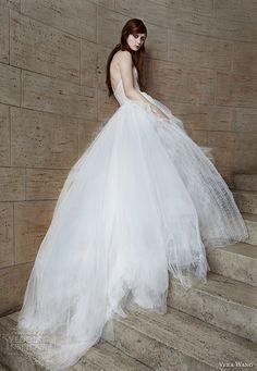 Vera Wang Spring 2015 #bridal collection: ball gown #wedding dress #weddinggown #weddingdress