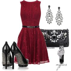A fashion look from October 2012 featuring Oasis dresses, Lanvin pumps y Lanvin clutches. Browse and shop related looks.
