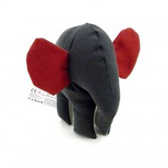 Small Red and Gray Elephant by Simply Made.