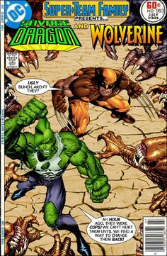Super-Team Family: The Lost Issues!: Savage Dragon and Wolverine