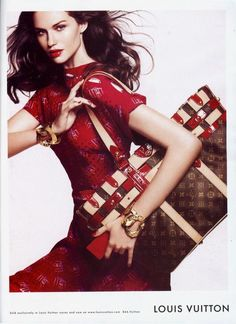 Louis Vuitton Cruise 2007. 2008 Ad Campaign