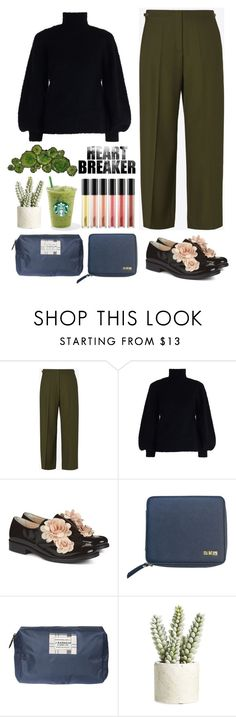 """5469"" by katrina-yeow ❤ liked on Polyvore featuring Maison Margiela, Zimmermann, Pokemaoke, Flight 001, Barbour, Allstate Floral and Moe's Home Collection"