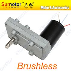 100FB DC 12V 24V Low speed High torque Plate Gear Box Metal Gear Reducer Brushless Motor reversible Electric curtain PTZ Camera -- Want additional info? Click on the image.