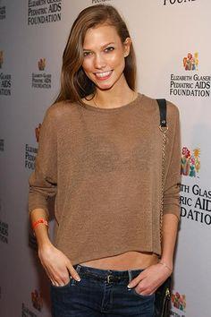 Karlie Kloss' best beauty looks: November 2011