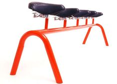 Bicycle Seat Benches - Sebastian Errazuriz Creates Funky Furniture