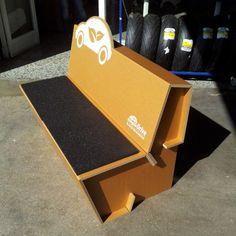 Cardboard Design cartonLAB´s design for Ecological Drive