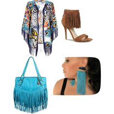 Fringe Fashion Spring 2014, created by shestayfabulous on Polyvore