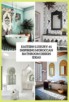 Luxury Moroccan Bathroom Design With Exotic Extravagance Turquoise Bathroom Decor, Half Bathroom Decor, Bathroom Decor Pictures, Moroccan Bathroom, Moroccan Decor, Bathroom Ideas, Moroccan Tiles, Bathroom Remodeling, Maroon Bathroom