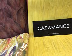 [Idée Déco] CASAMANCE ... Un mélange de deux collections ... Avec, d'un côté, la collection ACAJOU faite en heliogravure ce qui permet une finesse et une belle précision de couleurs et, de l'autre, la collection SANKARA, des couleurs intenses et une large palette de verts profonds sublimes, restitués par un procédé d'encres gonflantes...à découvrir dans vos magasins DISTRICOLOR Saint-Lô et Saint-Berthevin !