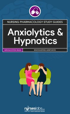 Anxiolytic and Hypnotic Drugs Nursing Pharmacology Study Guide