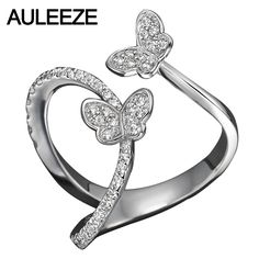 Whimsical Butterfly Ring Noble Lady Solid 10k White Gold Ring For Women 0.45CTTW Lab Grown Diamond Ring Wedding Bands Tag a friend who would love this! FREE Shipping Worldwide Buy one here---> http://onlineshopping.fashiongarments.biz/products/whimsical-butterfly-ring-noble-lady-solid-10k-white-gold-ring-for-women-0-45cttw-lab-grown-diamond-ring-wedding-bands/