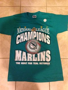65d81eaa936 Florida Marlins 1997 World Series Brand New Size Medium