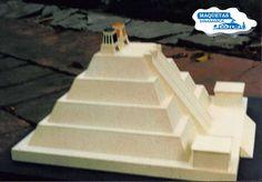 Maquetas Dinamarca: Templo Mayor Pyramid School Project, Mexica, School Projects, Temple, Denmark, Wire, School, Drawings, Temples