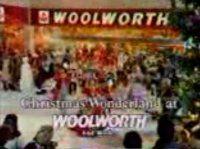 woolworths 1980s christmas tv advert