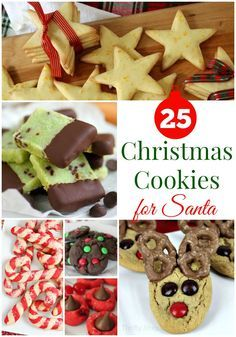 Have your sweet treats ready with these 25 Christmas Cookies recipes, perfect for gifts and Santa's treats for Christmas Eve.