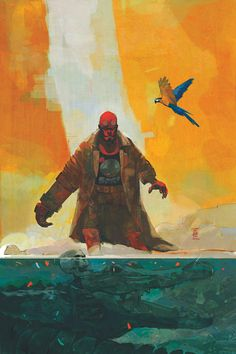 Hellboy And The B.P.R.D.: 1952 #3 - Art and cover by Alex Maleev