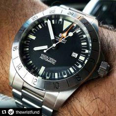 #Repost @thewristfund Right time wrong day \_(ツ)_/ ________________________________________________ #watchporn #watchesofinstagram #watchaddict #watchgeek #watchnerd #watchpics #wristporn #wristwatch  #watchcommunity #wf4life #watch #watches #teamkicktoc #lovewatches #instawatch #wristcheck #watchcollector #horology #horophile #watchoftheday #watchfam #womw #steinhartwatches #wrongdatedontcare