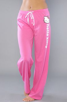 The Cutie Squad Pant in Pink by Hello Kitty Intimates at karmaloop.com  Bobtail Cat 1f17e5f359347