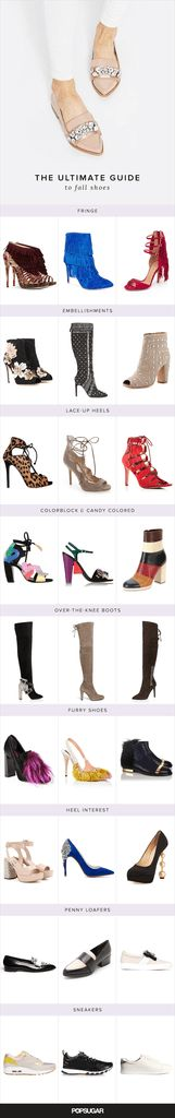 The Ultimate Fall Shoe Guide: If the shoe fits, buy it.