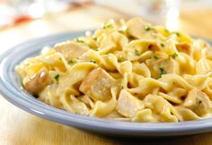 Quick Creamy Chicken and Noodles