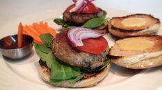 Jerk Turkey Burger