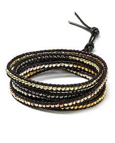 Chan Luu Black Tri Tone Five Wrap Bracelet | Bloomingdale's