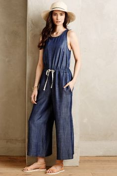 The Minya Chambray Jumpsuit by Nomad by Morgan Carper is petite-friendly and inspired by a road trip through Arizona.