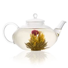 Classic glass teapot - a real talking point for your table