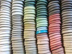 Art Supplies, Bangles, Colors, Surfboard Wax, Colour Pattern, World, Architecture, Bracelets, Colour