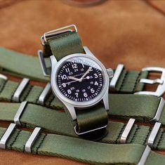 Army Watches, Cool Watches, Watches For Men, Vintage Rolex, Vintage Watches, Hamilton Khaki Field, Rolex Explorer Ii, Field Watches, Rolex Gmt Master