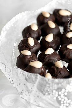 Trüffel Schokolade mit Honig Quark ..