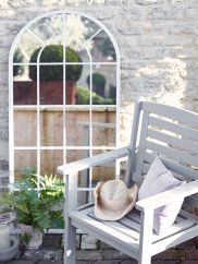 NEW Outdoor Arched Window Mirror