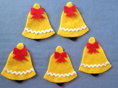 Christmas Bells Felt Board Set Christmas RHYME by FeltBoardMagic