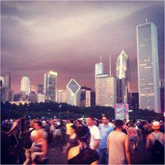 Lollapalooza sunset