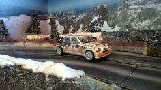 R5 Maxi Turbo (Altaya) in my Slot Car Track #R5 #maxi #turbo #altaya #renault…