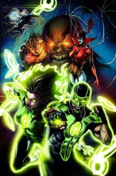 Linternas Verdes: RENACIMIENTO # 1 Entrada golpe más duro del universo: la Tierra.   Boleto caliente: Geoff y llevados Ethan Hal Jordan a la condición épica con el Linterna Verde original: el renacimiento.