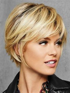"""hair_beauty- """"Idée Tendance Coupe & Coiffure Femme 2018 : Tendance Sac 2018 Description Textured Fringe Bob by Hairdo Bob Wig with"""", """"Please Trending Hairstyles, Short Hairstyles For Women, Cool Hairstyles, Short Hair For Women, Hairstyle Hacks, Natural Hairstyles, Chin Length Hair Styles For Women, Hairstyles 2016, Teenage Hairstyles"""