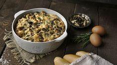 Pochoutka z hub: Krkonošský hubník Paella, Macaroni And Cheese, Cereal, Veggies, Breakfast, Ethnic Recipes, Food, Morning Coffee, Mac And Cheese