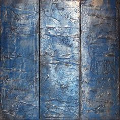 "Items similar to EXTRA LARGE WALL art triptych 3 panel wall art "" Silver Triptych 2 "" paintings on canvas sculpture original metal wall art blue 48 x on Etsy 3 Panel Wall Art, Triptych Wall Art, 3 Piece Wall Art, Abstract Wall Art, Metal Wall Art, Canvas Wall Art, Ebay Paintings, Original Paintings For Sale, Great Paintings"