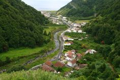 The village of Faial da Terra Sao Miguel Island Azores Islands, Portugal - News Photo 170492220