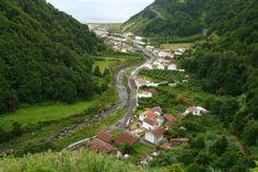 The village of Faial da Terra Sao Miguel Island Azores Islands, Portugal - News Photo 170492220