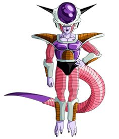 Frieza (フリーザ) is one of the most significant villains in the Dragon Ball manga and the Dragon. Dragon Ball Gt, Frieza Race, Lord Frieza, Akira, Majin, Dbz Characters, Fan Art, Son Goku, Animes Wallpapers