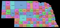 Nebraska countys