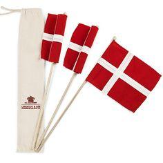 Hurraflag - 3 styk - B2C - mest for private - Langkilde & Søn