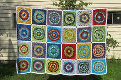 I LOVE this afghan!! Wish it was me who made it! {Signed With an Owl}