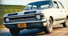 1971 Chevrolet Opala SS - Brazil