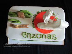 Doces Opções: Bolo do 5º aniversário da Enzonas