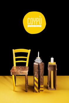 COYPÙ's Yellow set n°1 >> Styling: Elsa Cresti / Photographer: Camilla Catrambone (http://www.behance.net/lacatra)
